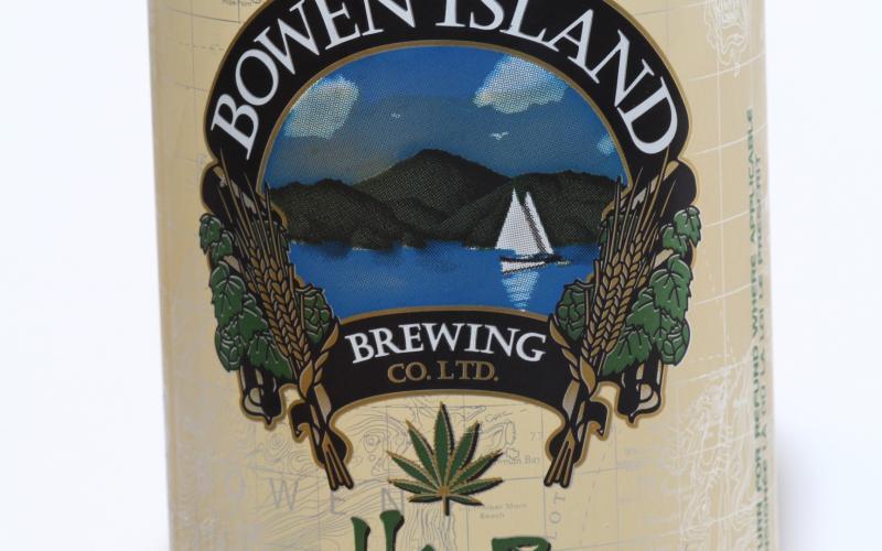 Bowen Island Brewing – Hemp Blonde Ale