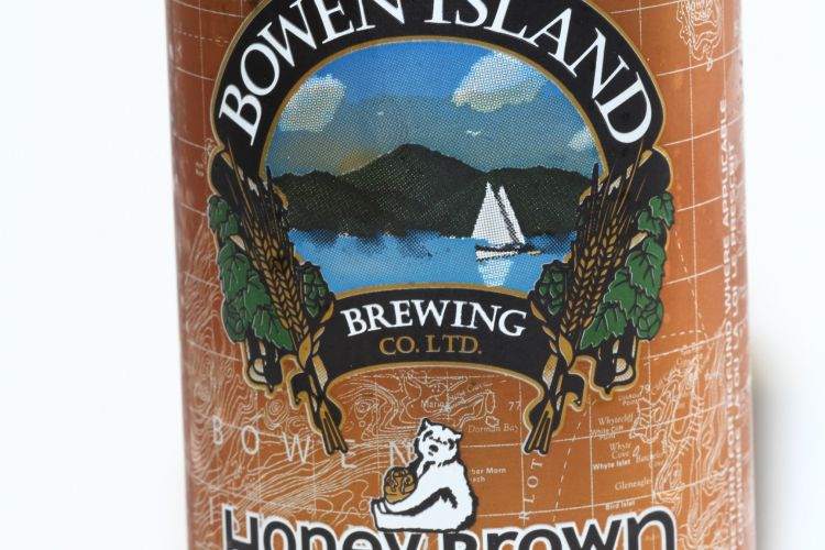 Bowen Island Brewery – Honey Brown Lager