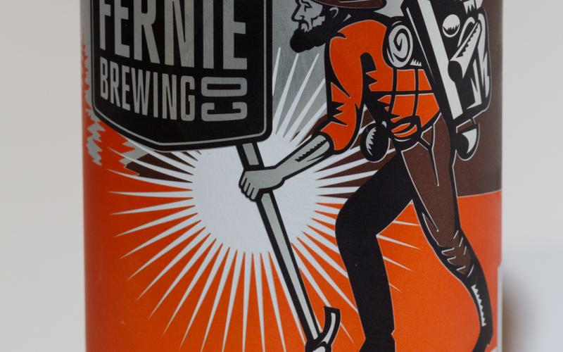 Fernie Brewing Co. – First Trax Brown Ale