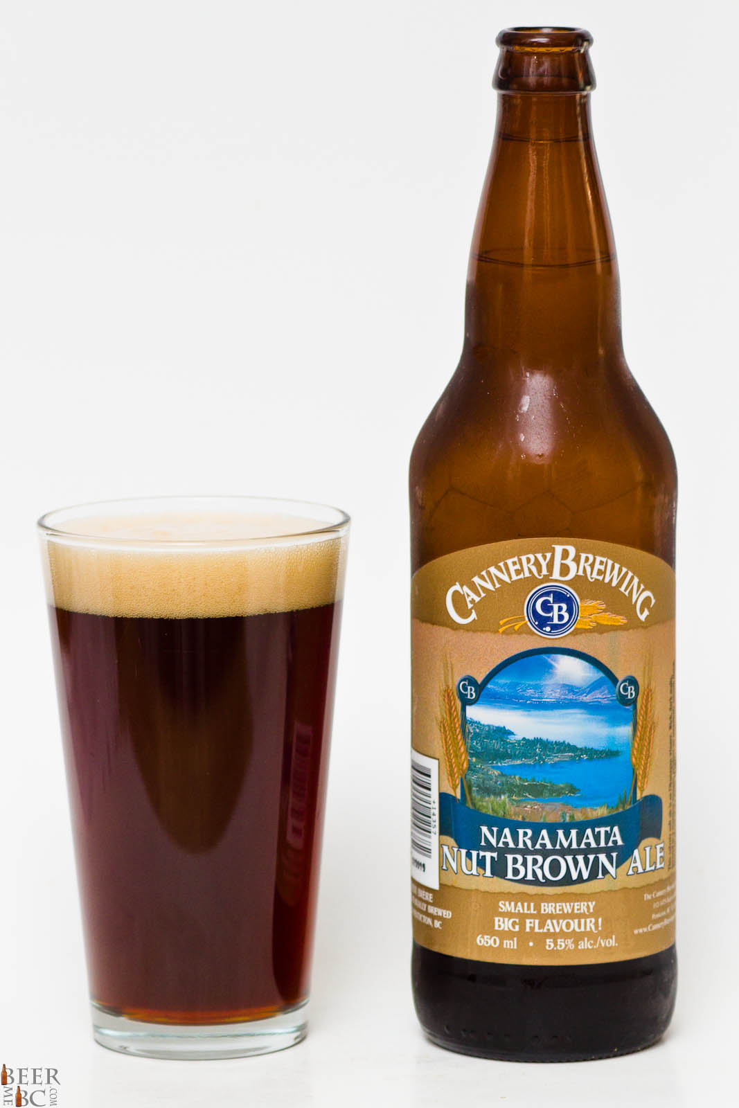 Cannery Brewing Co Naramata Nut Brown Ale Beer Me