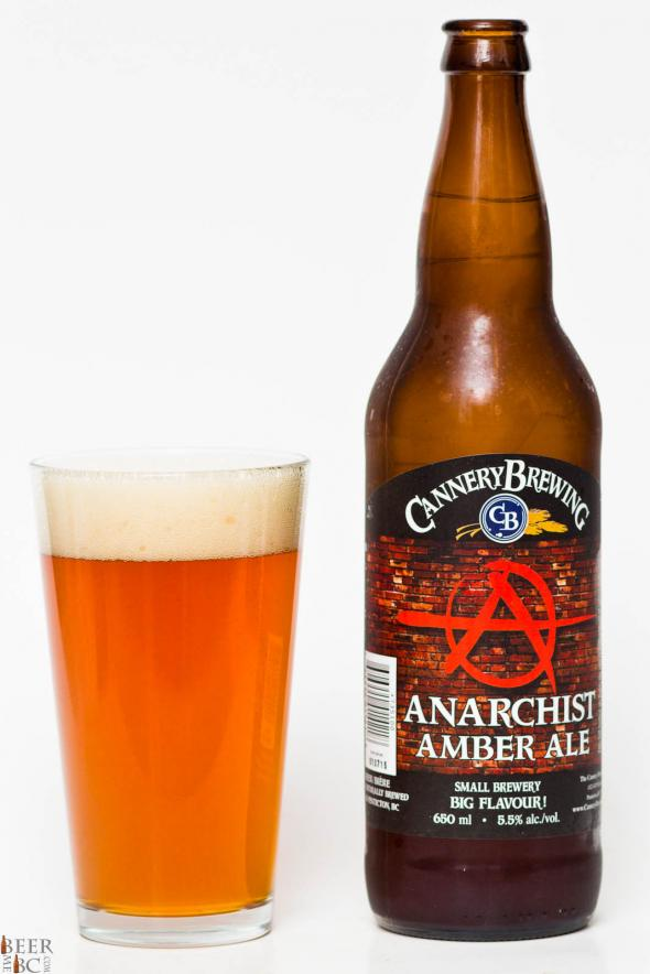 Cannery Brewing Anarchist Amber Ale Review