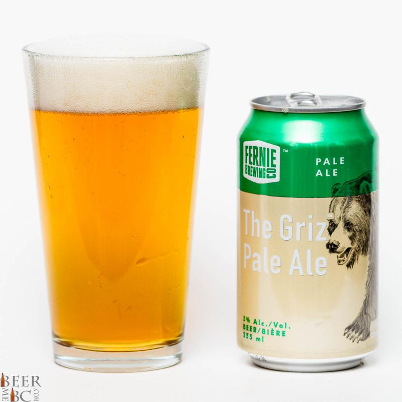 Fernie Brewing Company – The Griz Pale Ale