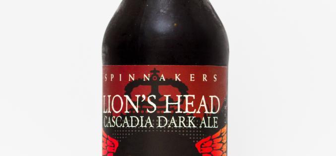 Spinnakers Brewing Co. – Lion's Head Cascadia Dark Ale