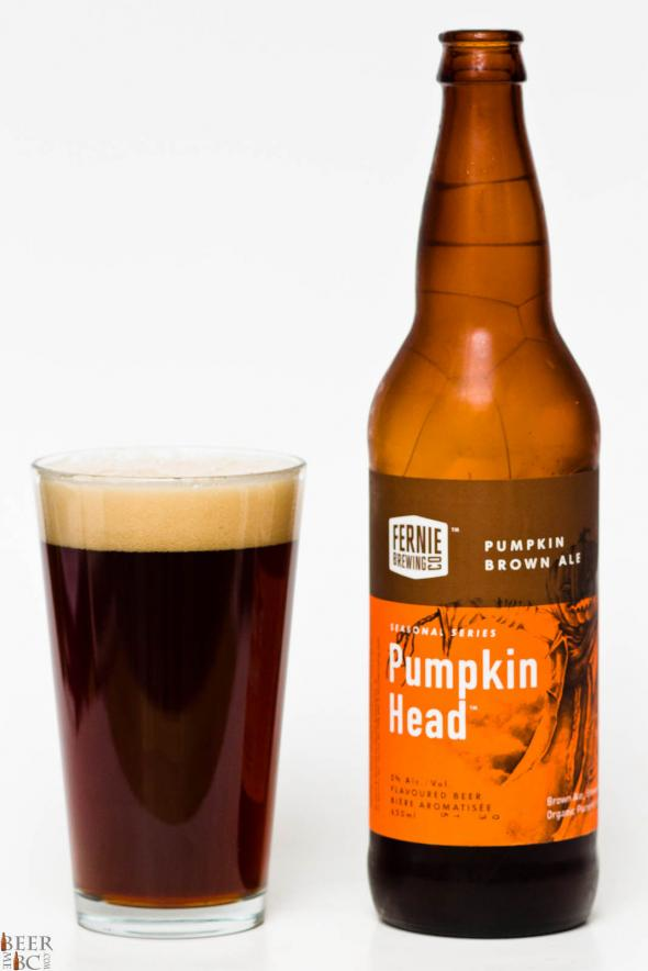 Fernie Brewing Pumpkin Head Brown Ale Review