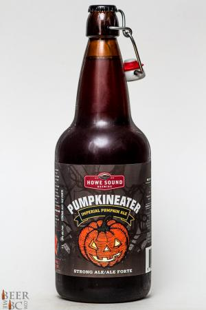 Howe Sound Brewery Pumpkineater Imperial Pumpkin Ale Review