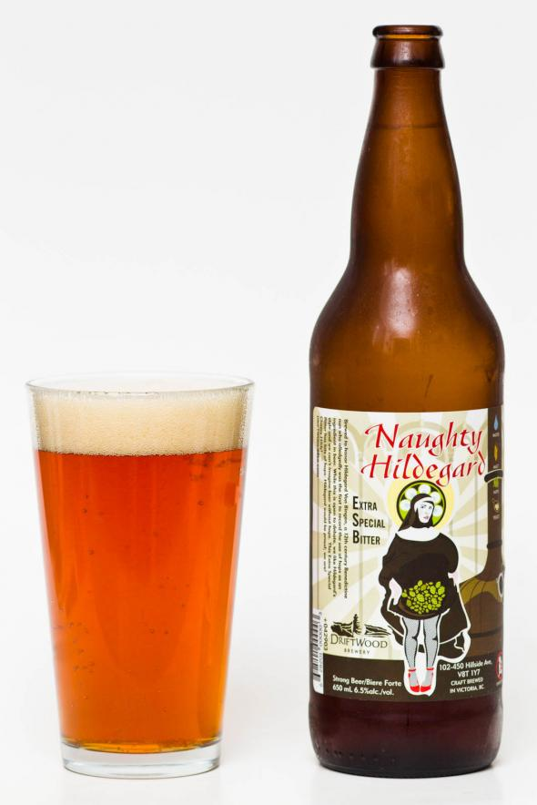 Driftwood Brewery Naughty Hildegard ESB Review