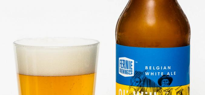 Fernie Brewing Co. – Ol' Willy Wit Belgian White Ale