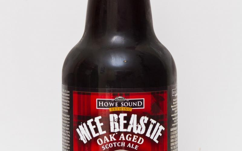 Howe Sound Brewing – Wee Beastie Oak Aged Scotch Ale