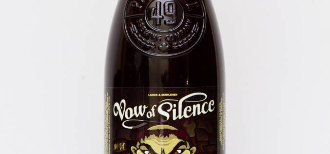 Parallel 49 Brewing Co. – Vow of Silence Belgian Strong Ale
