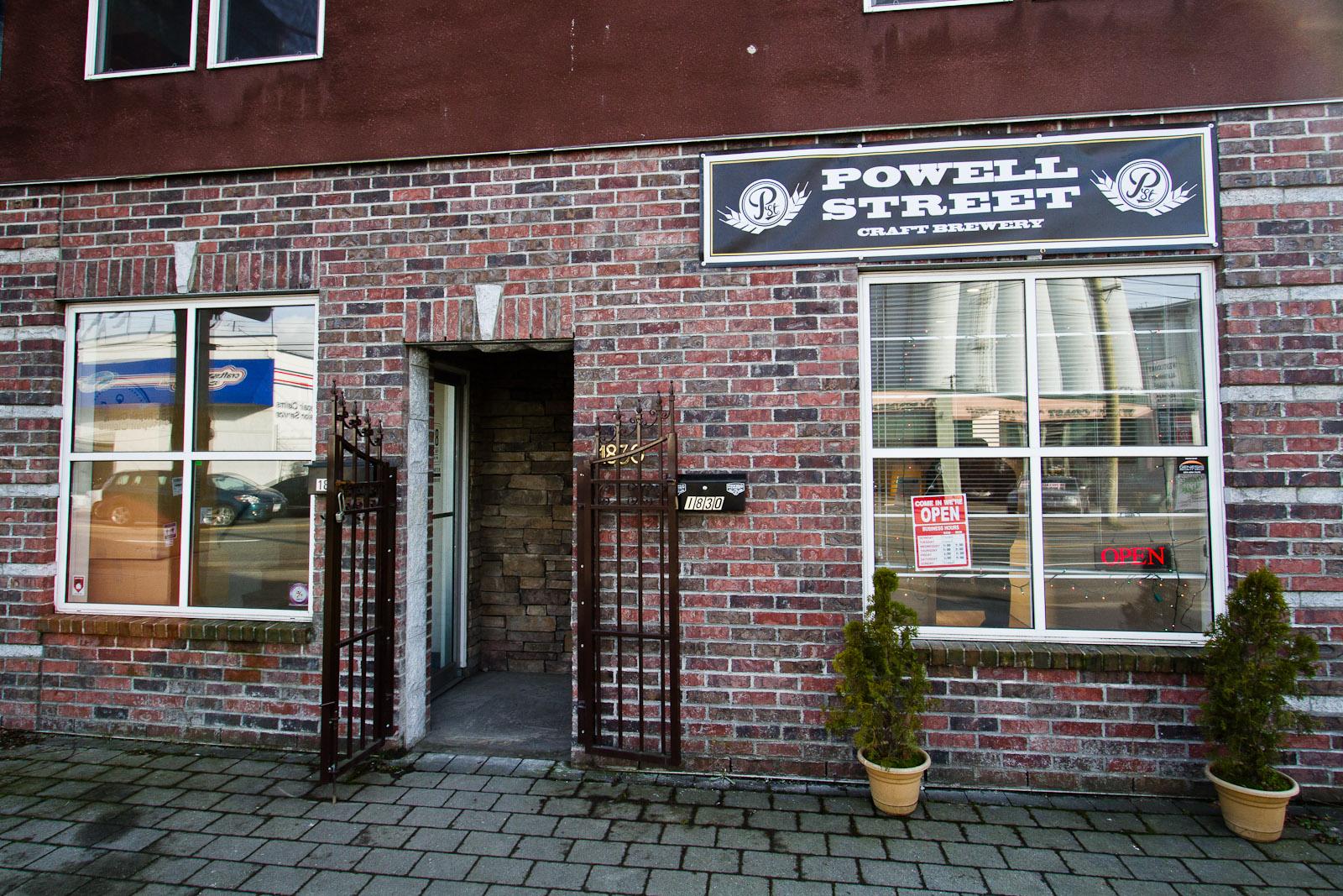 powell street nano brewery business plan