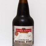 Old Howe Sound Diamond Head Stout Label Design