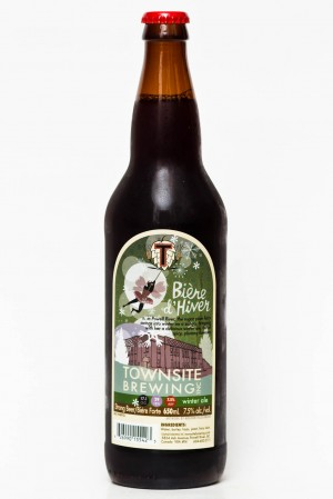 Townsite Brewing Biere d'Hiver Winter Ale Review