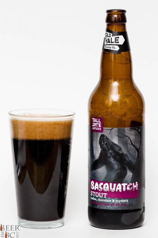 Old Yale Brewing - Sasquatch Stout Review