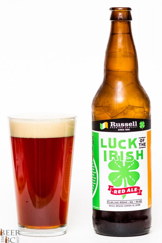Russell Brewing Luck of the Irish Red Ale Review