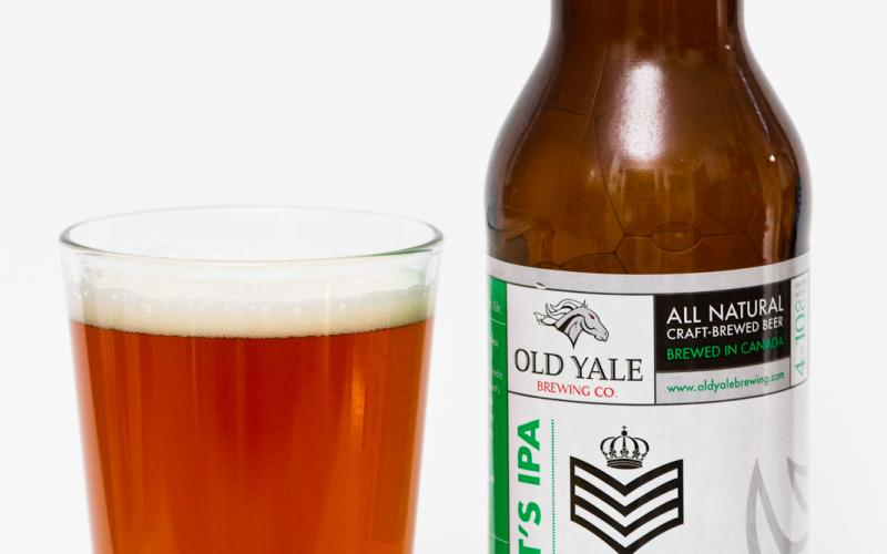 Old Yale Brewing Co. – Sergeant's IPA