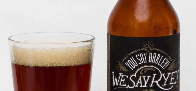 Canadian Band Beer – R&B Brewing – You Say Barley! We Say Rye!