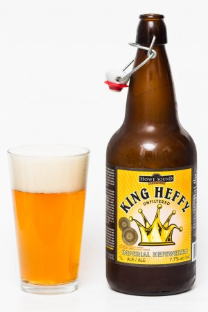 Howe Sound King Heffy Imperial Hefeweizen