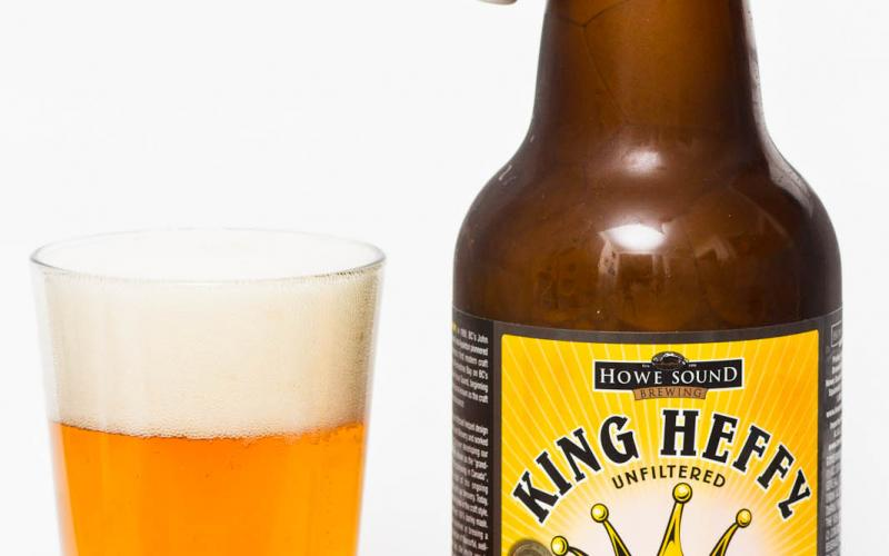 Howe Sound Brewing – King Heffy Unfiltered Imperial Hefeweizen