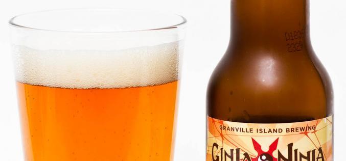 Granville Island Brewing – Ginga Ninja Ginger Beer