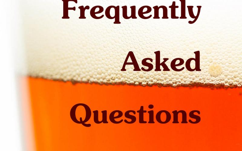 Frequently Asked Beer Questions
