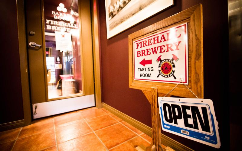Drinking Beer in Wine Country – Oliver BC's Firehall Brewery