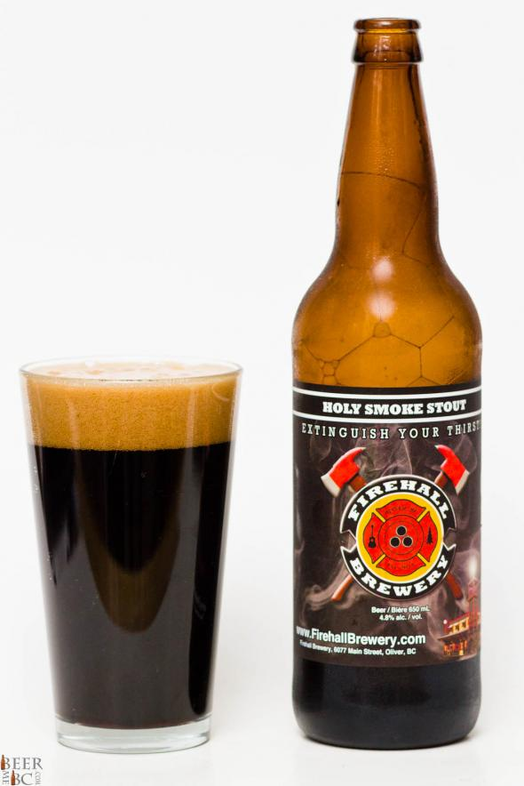 Firehall Brewery - Holy Smoke Stout Review