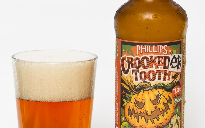 Phillips Brewing Co. – Crookeder Tooth Barrel Age Pumpkin Ale