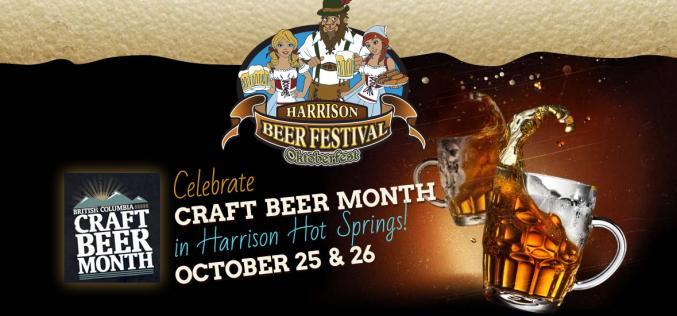 The Harrison Beer Festival Returns Oct. 25-26