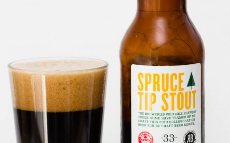 2013 Brewery Creek Collaboration Spruce Tip Stout