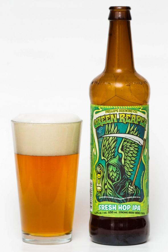 Phillips Brewing Co. - Green Reaper Fresh Hop IPA