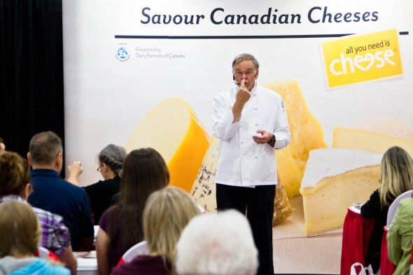 Fraser Vally Food Show - cheese pavilion