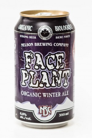 Nelson Brewing Face Plant Organic Winter Ale beer review