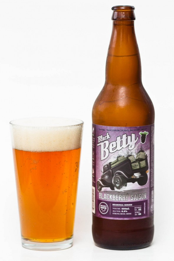 Vancouver Island Brewery - Black Betty Blackberry Saison Review