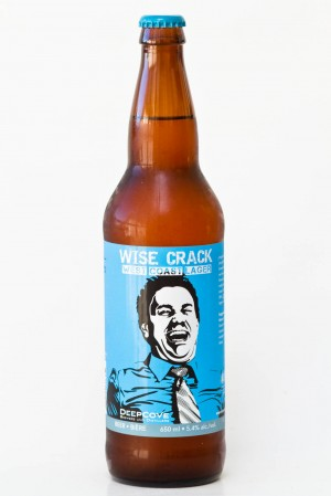 Deep Cove Brewers - Wise Crack West Coast Lager Review