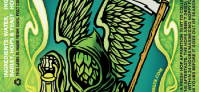 Phillips Brewing Resurrects the Green Reaper Fresh Hop IPA