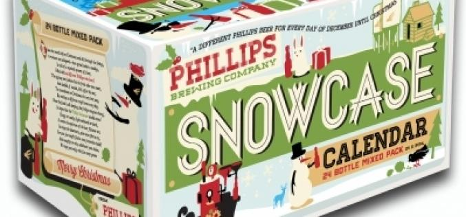 Phillips Brewing Counts Down to Christmas with the Snowcase Advent Calendar