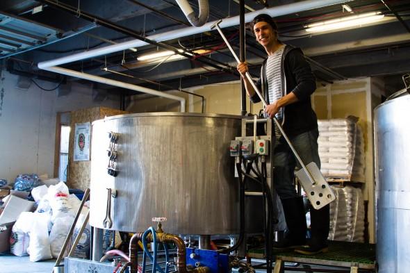 Coal Harbour Brewing Assistant Brewer Lucas Parks