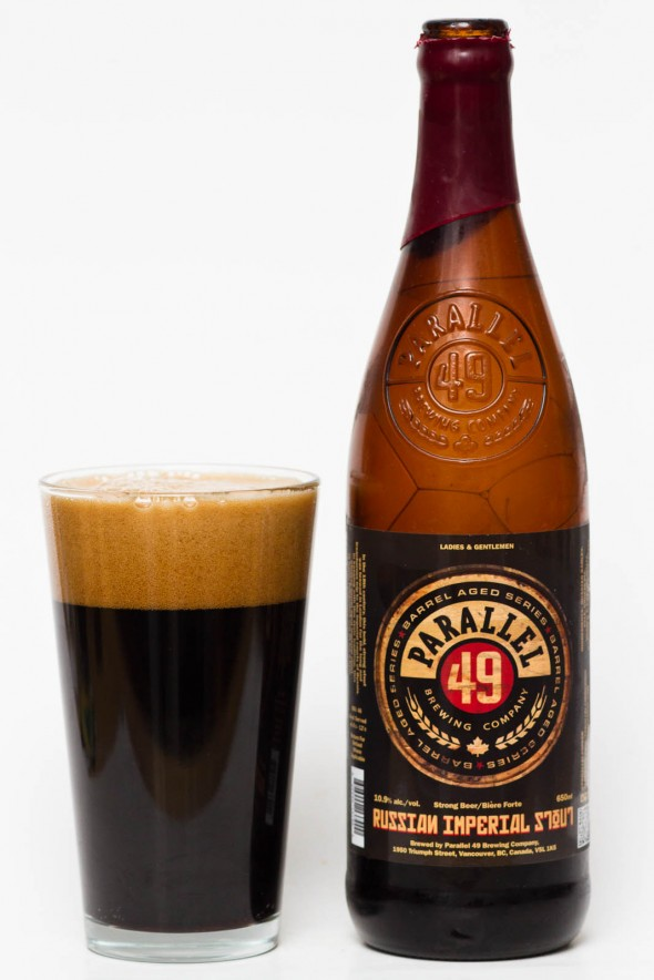 parallel 49 brewing Russian Imperial Stout Review