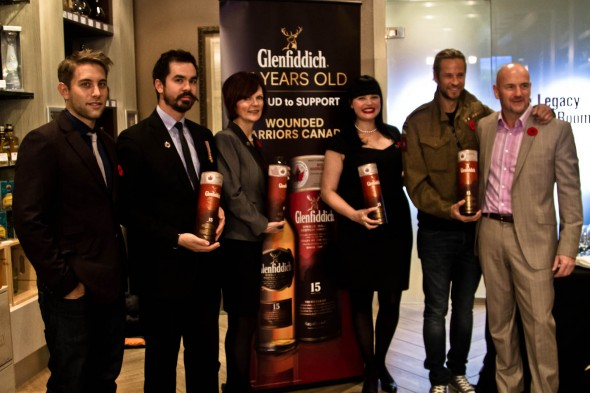 Hopscotch and Glenfiddich support Wounded Warriors