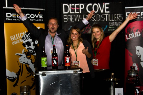 Deep Cove Brewers and Distillers - Now tasting Brandy and Vodka plus beer