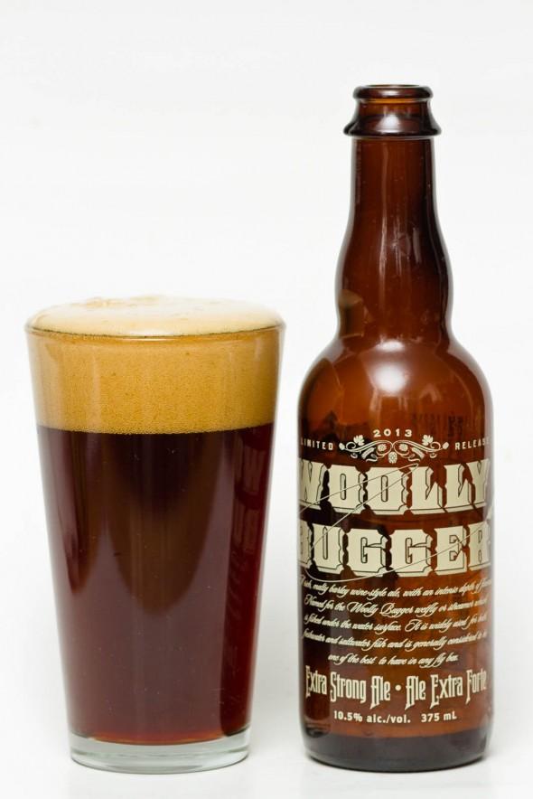 Howe Sound Wooly Bugger Barley Wine 2013 Beer Review