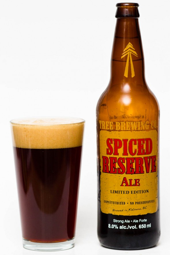Tree Brewing Spiced Reserve Ale Review