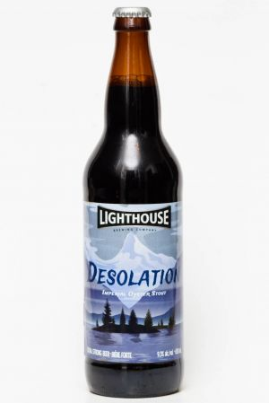Lighthouse Brewing - Desolation Oyster Stout Beer Review