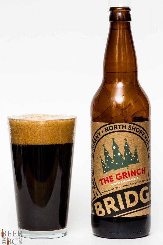 Bridge Brewing 2015 Grinch Winter Ale Review