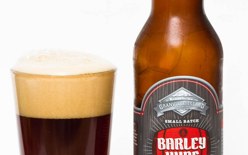 Granville Island Brewing Co. – Barrel Aged Barley Wine (2013)
