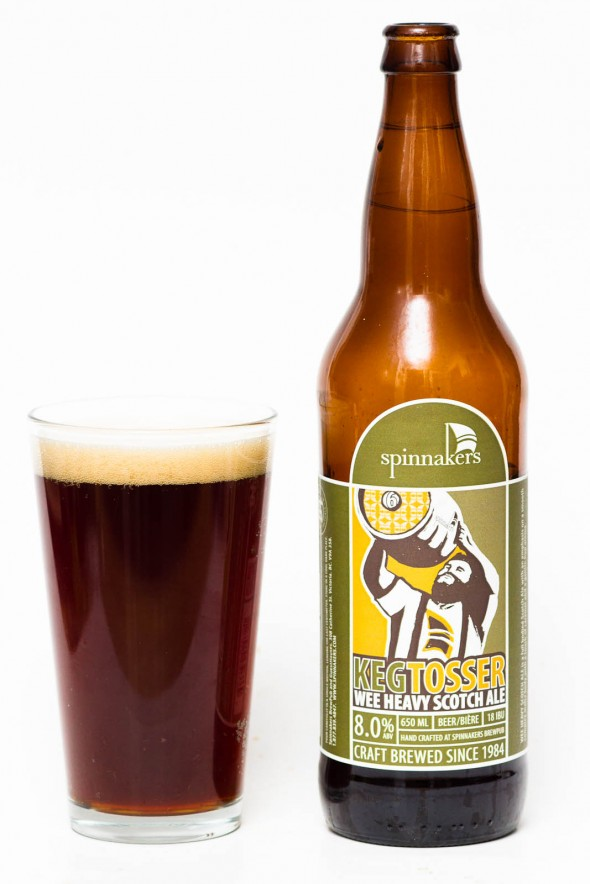 Spinnakers Keg Tosser Scotch Ale Review