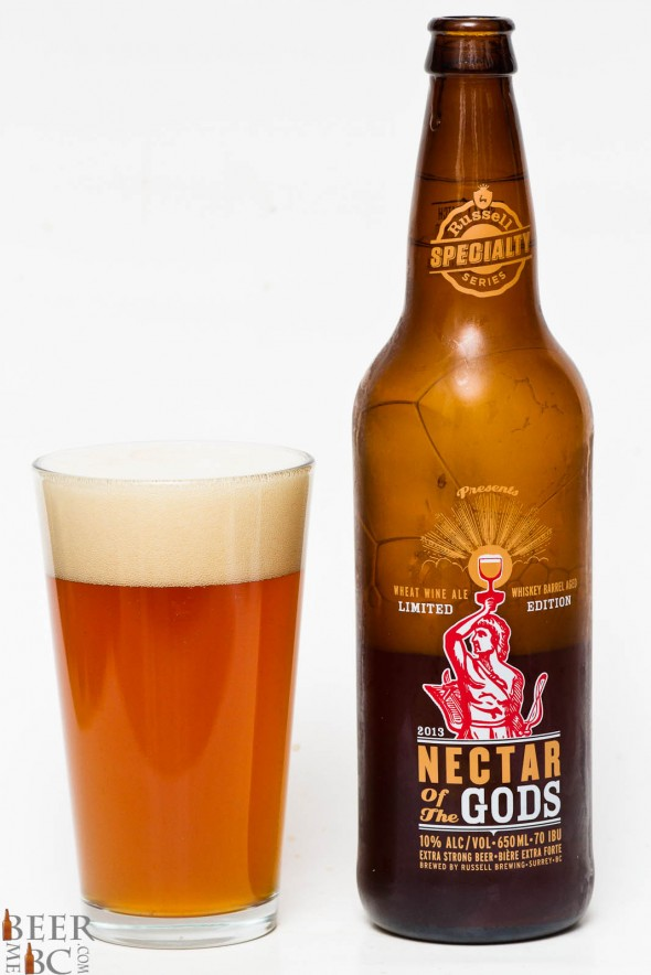 2013 Russell Nectar of the Gods Wheat Wine Ale Review
