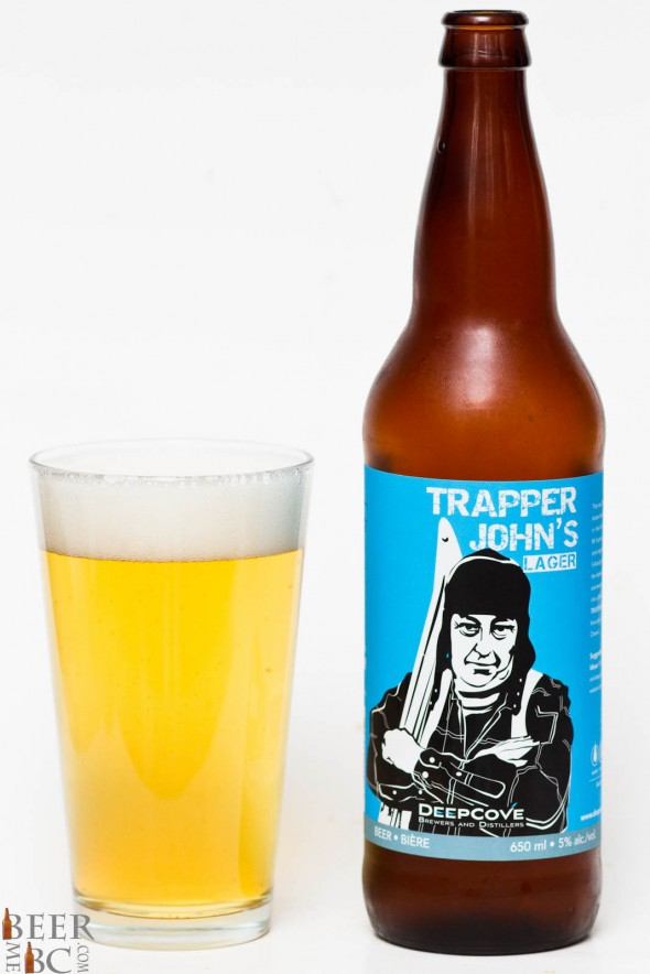 Deep Cove Brewers - Trapper John Lager Review