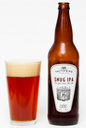 Saltspring Island Snug IPA Review