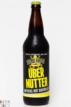 Dead Frog - Uber Nutter Imperial Nut Brown Ale Review